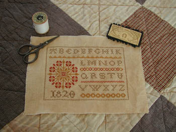 click here to view larger image of Primrose Sampler (chart)
