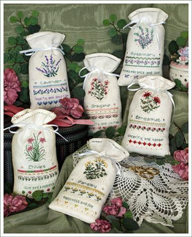 click here to view larger image of Herbal Sachets (chart)