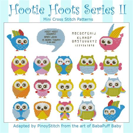 click here to view larger image of Hootie Hoots Series II (chart)