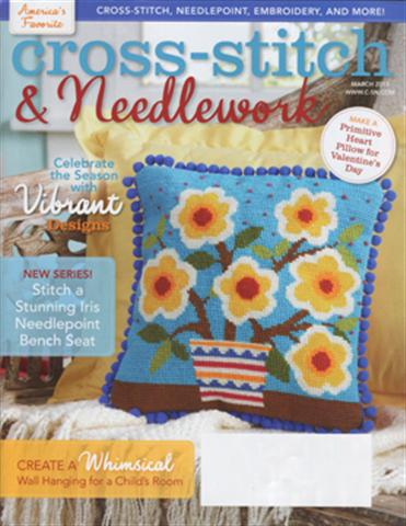 click here to view larger image of Cross Stitch & Needlework Magazine - March 2013 (magazines)