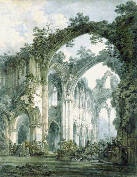click here to view larger image of Interior of Tintern Abbey, Monmouthshire (chart)