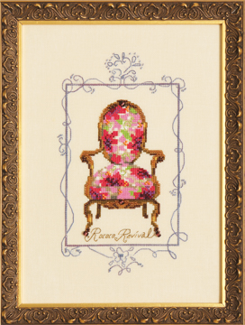 click here to view larger image of Rococo Revival - Sitting Pretty Collection (chart)