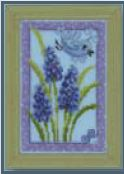 click here to view larger image of Blue Veronica (counted cross stitch kit)