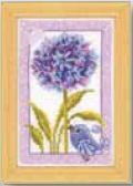 click here to view larger image of Flower and Bird (counted cross stitch kit)