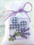 click here to view larger image of Lavender Sachet 1 (counted cross stitch kit)