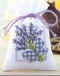 click here to view larger image of Lavender Sachet 2 (counted cross stitch kit)