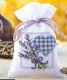 click here to view larger image of Lavender Sachet 3 (counted cross stitch kit)