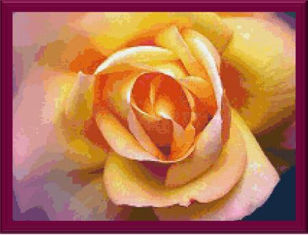 click here to view larger image of Colorful Rose (chart)