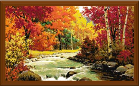 click here to view larger image of Autumn Beauty (chart)