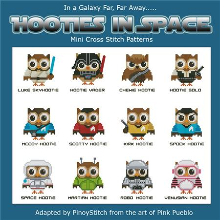 click here to view larger image of Hooties In Space (chart)