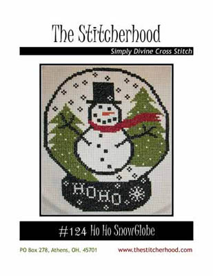 click here to view larger image of Ho Ho Snowglobe (chart)