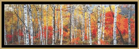 click here to view larger image of Birch Forest - French Alps (chart)