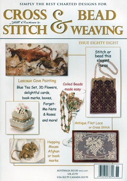 click here to view larger image of Cross Stitch & Bead Weaving Issue #88 (magazines)