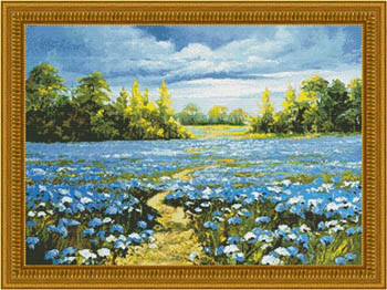 click here to view larger image of Blossoming Cornflowers (chart)