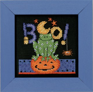 click here to view larger image of Boo Frog (counted cross stitch kit)