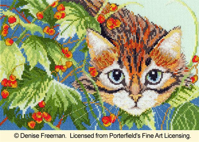 click here to view larger image of Cat's Whiskers  1 (counted cross stitch kit)