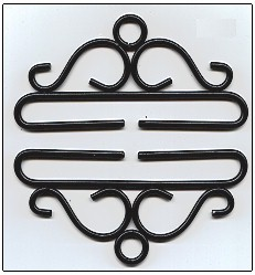 click here to view larger image of Bellpull  - Wrought Iron (accessory)
