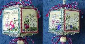 click here to view larger image of Easter Quadrielle (counted cross stitch kit)