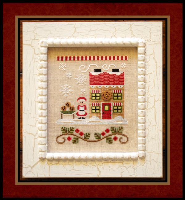 click here to view larger image of Mrs Claus Cookie Shop (Santas Village Part 4) (chart)
