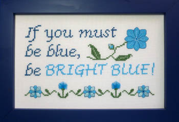 click here to view larger image of Be Bright Blue (chart)