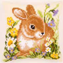 click here to view larger image of Bunny Cushion (None Selected)