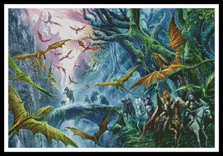 click here to view larger image of Forest Swarm, The  (The Dragon Chronicles) (chart)