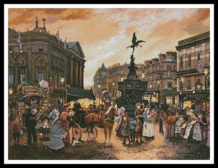 click here to view larger image of Piccadilly, London  (Lebron) (chart)