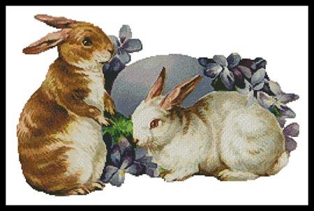 click here to view larger image of Easter Bunnies (chart)