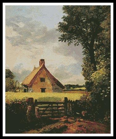 click here to view larger image of Cottage in a Cornfield, A (chart)