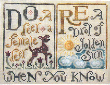 click here to view larger image of Sing A Sampler 1 (chart)