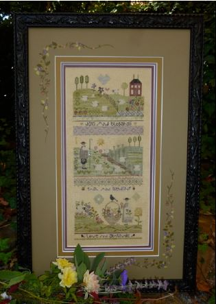 click here to view larger image of Gratitude Sampler (counted cross stitch kit)
