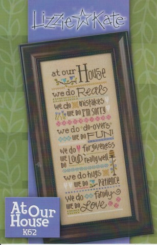 click here to view larger image of At Our House (counted cross stitch kit)