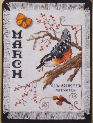 click here to view larger image of Birds of the Month - March (chart)