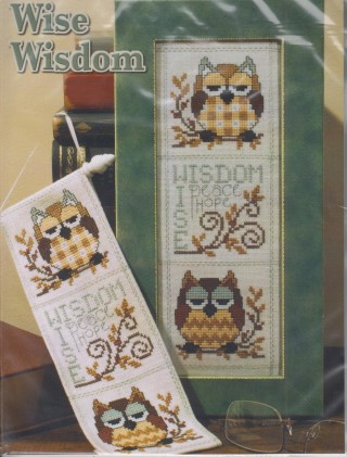 click here to view larger image of Wise Wisdom (VERY LIMITED) (counted cross stitch kit)
