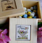 click here to view larger image of Get Eggs (counted cross stitch kit)