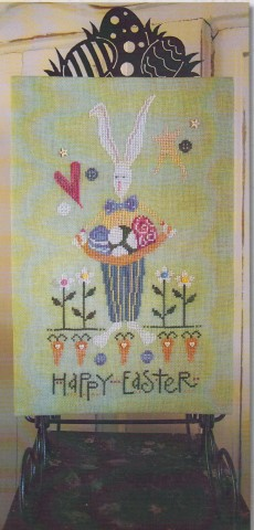 click here to view larger image of Happy Easter Bunny (chart)