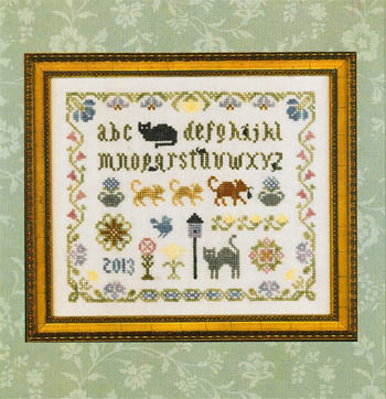 click here to view larger image of Cat and Mouse Sampler (chart)