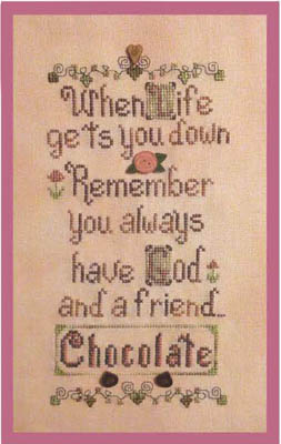 click here to view larger image of God & Chocolate (chart)