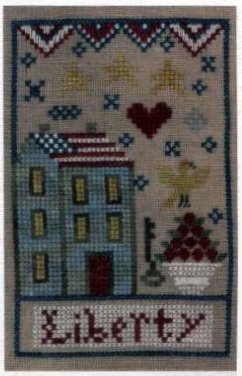 click here to view larger image of Liberty Inn  (chunky cross stitch kit)