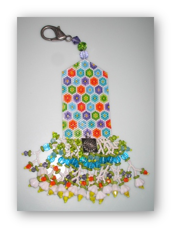 click here to view larger image of Posey Patch Fob Kit (bead kit)
