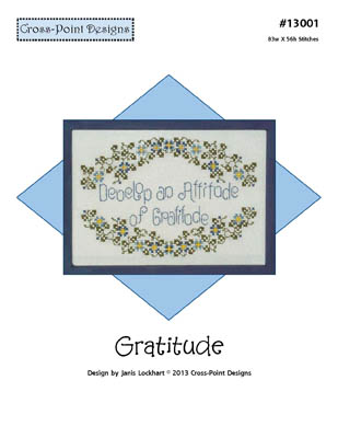 click here to view larger image of Gratitude (chart)