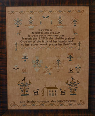 click here to view larger image of Ann Bradley Sampler (chart)