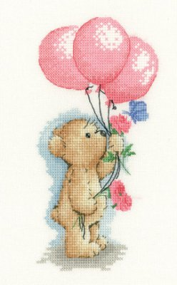 click here to view larger image of Toffee With Balloons - Toffee Bear (chart)
