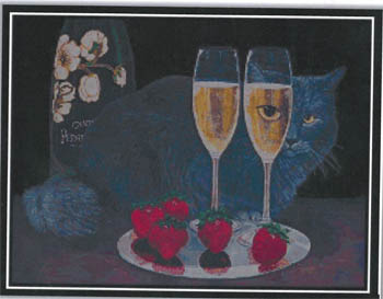 click here to view larger image of Perrier Jouet Et Le Chat (chart)