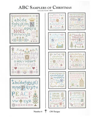 click here to view larger image of ABC Samplers of Christmas 2 (chart)