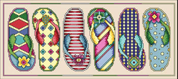 click here to view larger image of Flip Flop Fun (chart)