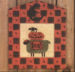 click here to view larger image of Betty Boo (counted cross stitch kit)