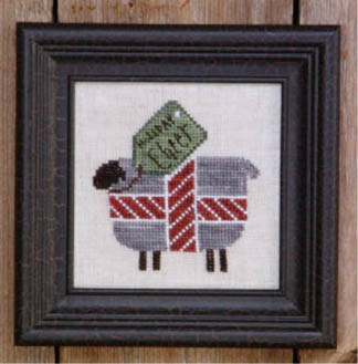click here to view larger image of Holiday Cheer (counted cross stitch kit)