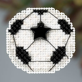 click here to view larger image of Soccer Ball (2013) (counted cross stitch kit)