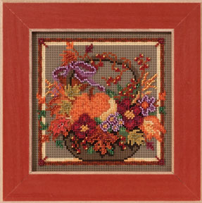 click here to view larger image of Autumn Basket (2013) (counted cross stitch kit)